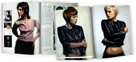 JeanLuc Paris Pressearbeit spanisches Friseurfachmagazin Peluquerias