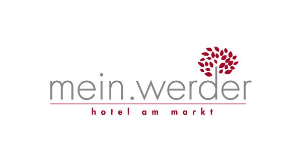 bb BERLIN Portfolio Logos: mein.werder | hotel am markt