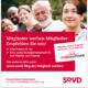 bb BERLIN Portfolio: SoVD Berlin-Brandenburg - Kampagne Mitglieder werben Mitglieder - Anzeige