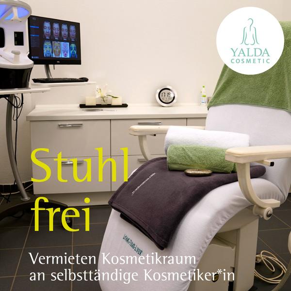 bb BERLIN Portfolio Social Media: Yalda Cosmetic - Stuhl frei