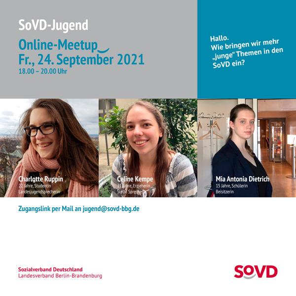 bb BERLIN Portfolio Social Media: Sozialverband Berlin-Brandenburg - SoVD-Jugend