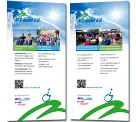 ALS-mobil e.V.: Werbemittel Rollup-Banner