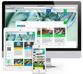 Markenauftritt für ALS mobil e.V. - Website