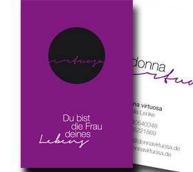 Donna Virtuosa: Visitenkarte