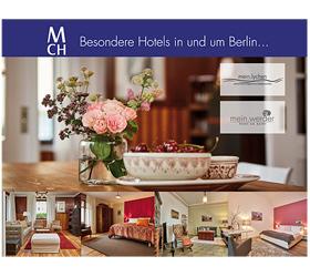 mein.werder hotel am markt: Messebanner Berlin Travel Festival