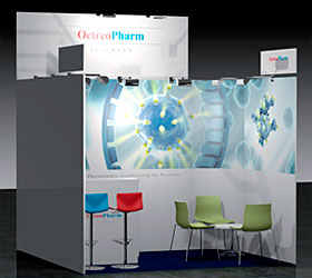 OctreoPharm Sciences: Messestand