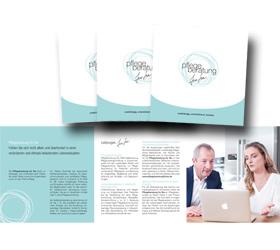 Markenauftritt: Pflegeberatung für Sie - Flyer