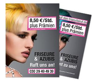 "Kampagne ""Lust auf den Friseurberuf"": Flyer"