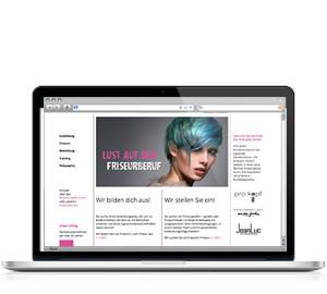 "Kampagne ""Lust auf den Friseurberuf"": Website"