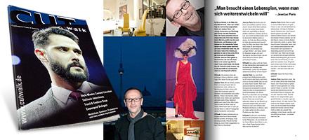 CUTwalk Ausgabe 2/2014: Porträt JeanLuc Paris (4-seitiges Interview)