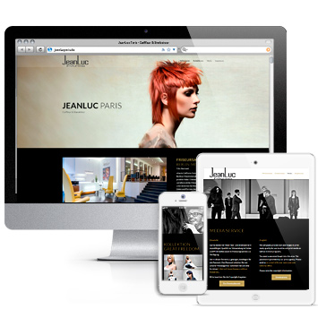 Website jeanlucparis.de. Erstellt mit WordPress.