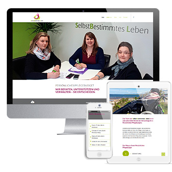 "Website der Budgetassistenz ""SelbstBestimmtes Leben"""
